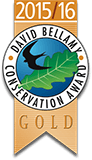 2015/16 DAVID BELLAMY CONSERVATION AWARD GOLD