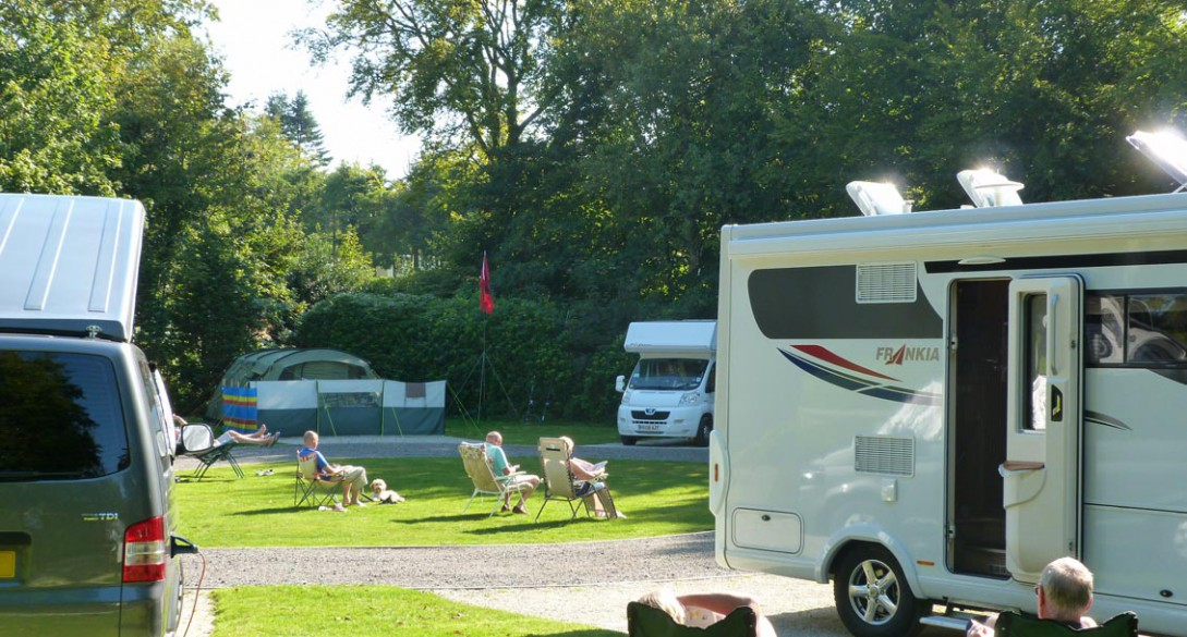 5 pennant touring park and camping pitches